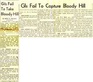 ハンバーガー・ヒル↑アメリカ軍第101空挺師団が937高地の奪取に失敗したことを一面で報じる新聞。1969年5月20日付コロンブス・イブニング・ディスパッチ紙。.jpg