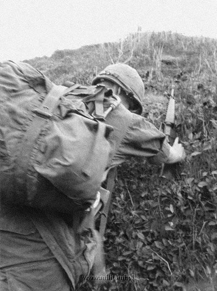 ハンバーガー・ヒル,攻撃開始5日目。上部からの攻撃をまともに受け、前進が苦しい。1969年5月14日。.jpg